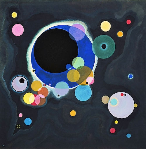 Wassily Kandinsky, Several Circles, 1926   Article on ArtWizard