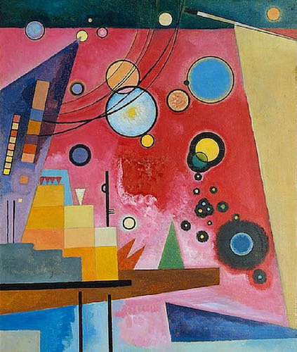Wassily Kandinsky, Heavy Red, 1924 | Article on ArtWizard