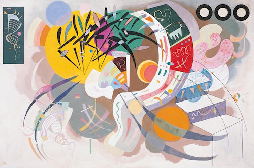 Wassily Kandinsky, Dominant Curve, 1936 | Article on ArtWizard
