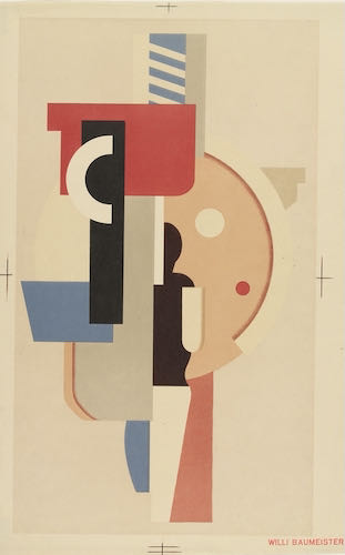 Willli Baumeister, Composition, 1925 | Article on ArtWizard