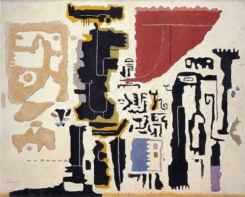 Willi Baumeister, Owambo, 1948 | Article on ArtWizard