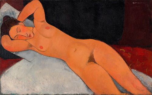 The long nudes by Amedeo Modigliani | Article on ArtWizard