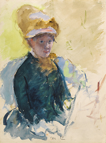 The Impressionism In The Portraits Of Mary Cassatt Article On Artwizard